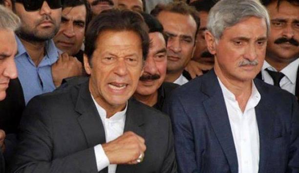 جہانگیر ترین کی عمران خان کو حکومت گرا دینے کی دھمکی.