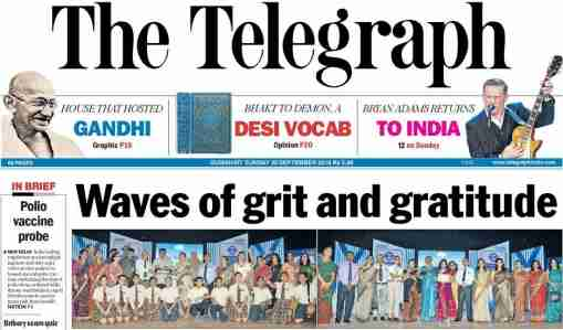 The Telegraph ePaper Today PDF download