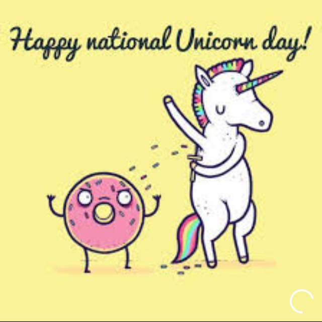 National Unicorn Day Wishes Images download