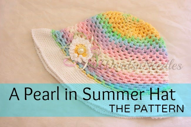 pearl in summer hat pattern