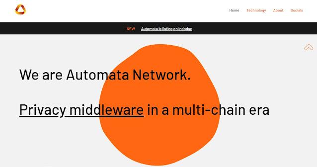 Screenshoot Halaman Website Automata Network (ATA)