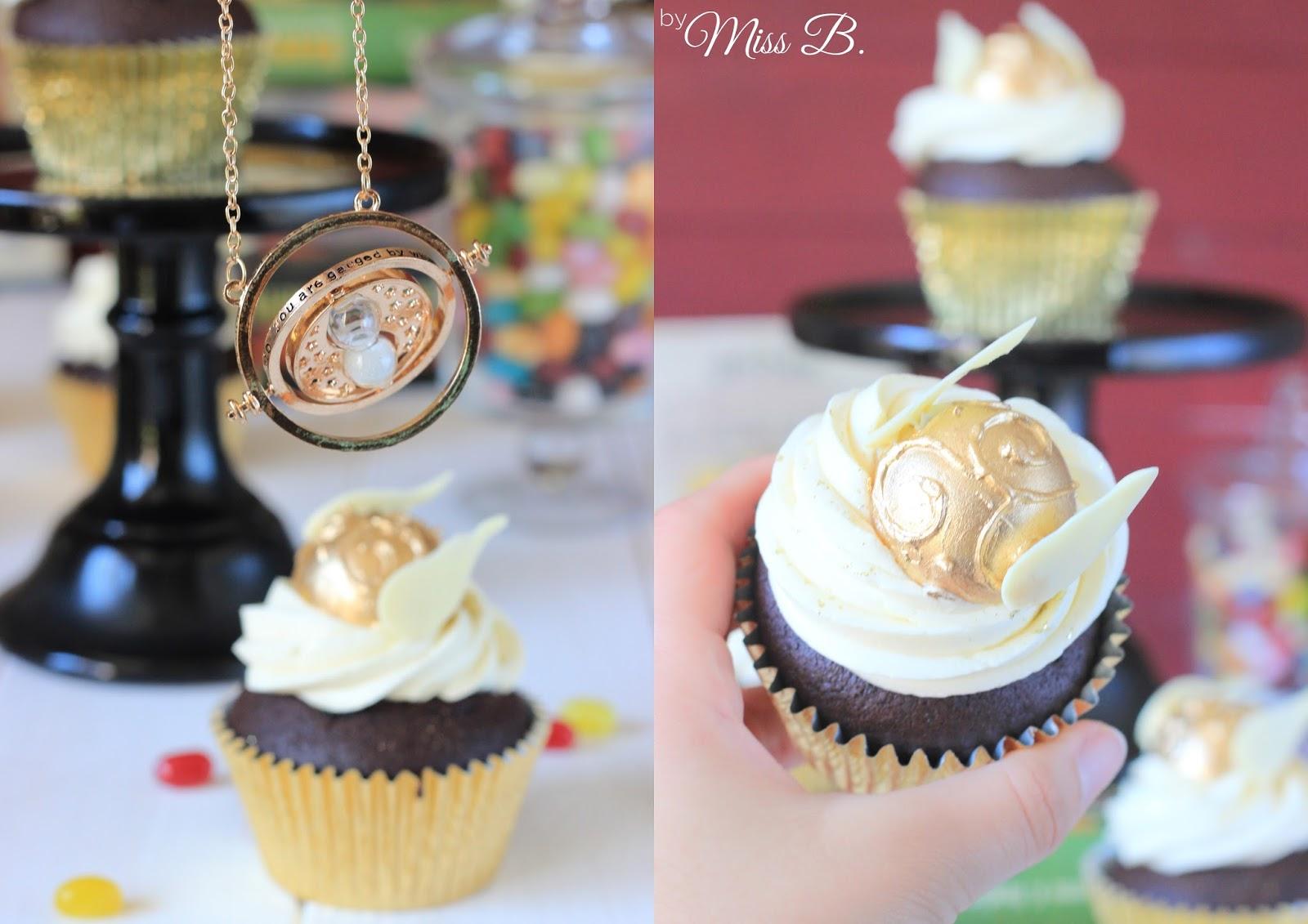 miss blueberrymuffin 39 s kitchen magische harry potter cupcakes goldener schnatz. Black Bedroom Furniture Sets. Home Design Ideas