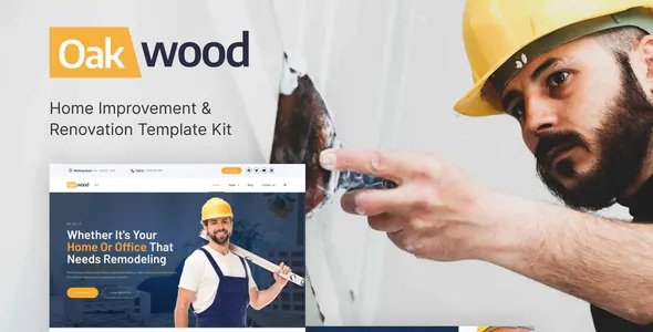 Home Improvement and Renovation Template Kit