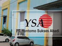 Lowongan Kerja di Tangerang PT Yontomo Sukses Abadi