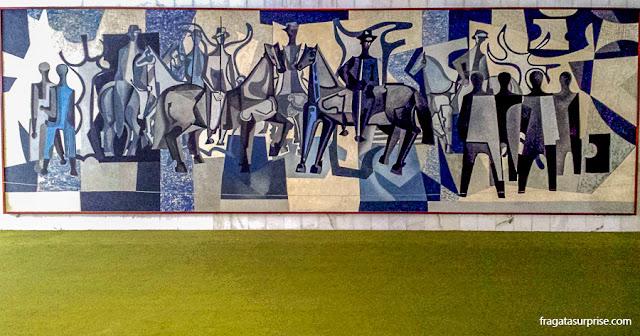 Painel de Di Cavalcanti, Salão Verde da Câmara dos Deputados