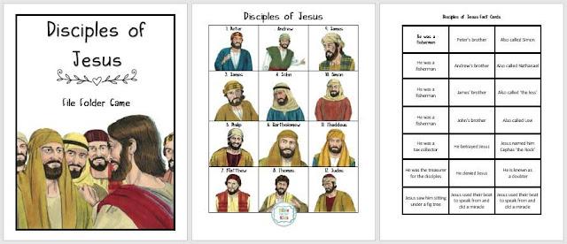 https://www.biblefunforkids.com/2021/02/disciples-of-Jesus.html