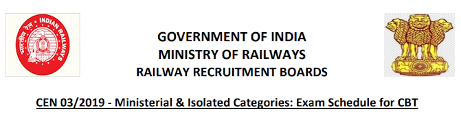 RRB NTPC Admit Cards 2020 Download Now