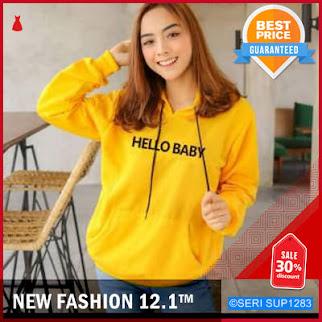 SUP1283H15 Hello Baby Swaeter Hoodie Wanita Murah BMGShop
