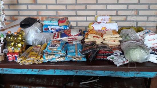 campanha arrecada alimentos familias refugiados imigrantes