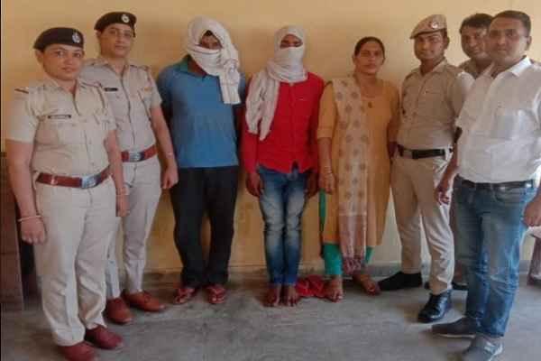 ballabhgarh-women-police-arrested-2-rape-accuse-with-minor-girl