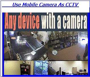 CCTV  Camera, Secure Home By Apps, Mobile Camera