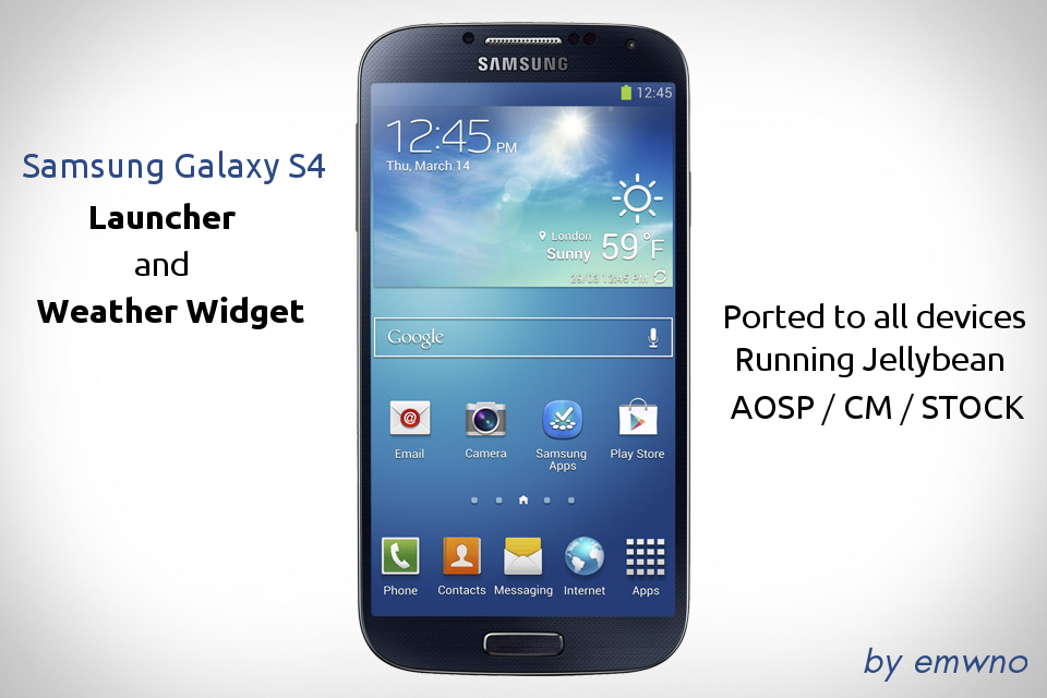 GALAXY S4 LAUNCHER APK | Android Gallery For Android Device