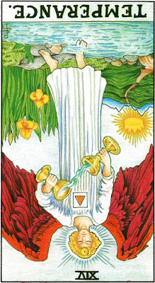 Temperance Reversed Tarot Card Meaning- Major Arcana
