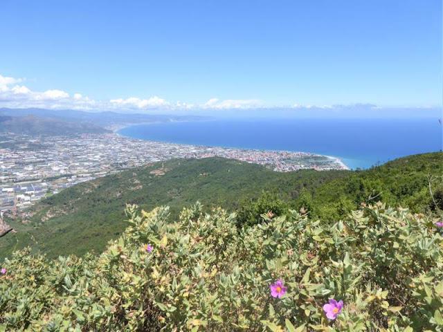 panorama Albenga Monte Bignone