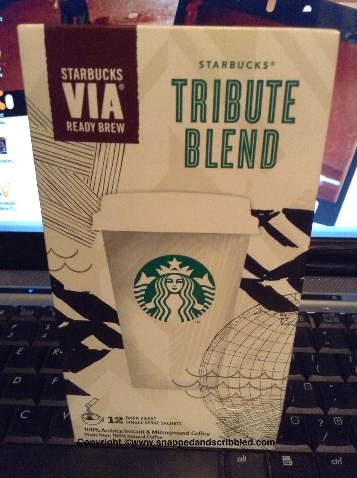Starbucks VIA Tribute Blend