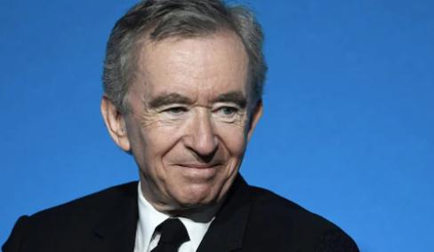 Bernard Arnold company name Louis Vuitton Mott Honessey (LMHV) in breaking news