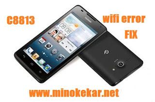 Huawei C8813 Wifi Error Fix File By Min Oke Kar
