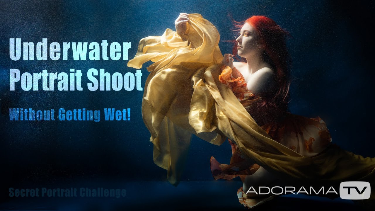 Underwater Portrait Shoot by Gavin Hoey