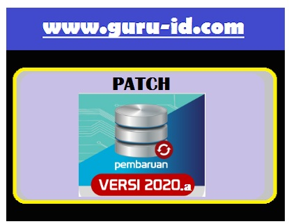 gambar installer patch dapodik 2020.a