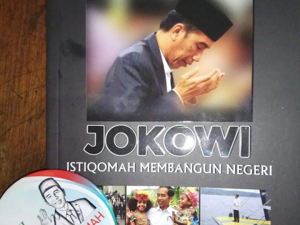 Launching buku Jokowi Istiqomah Membangun Negeri