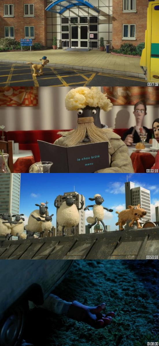 Shaun the Sheep Movie 2015 Dual Audio Hindi 720p BluRay 850mb