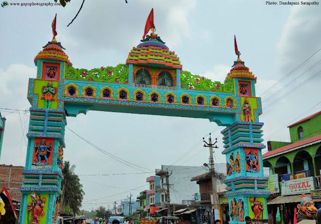 Welcome Gate of Maa Taratarini Temple, Berhampur, Odisha
