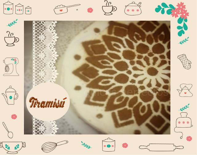 receta de Tiramisú