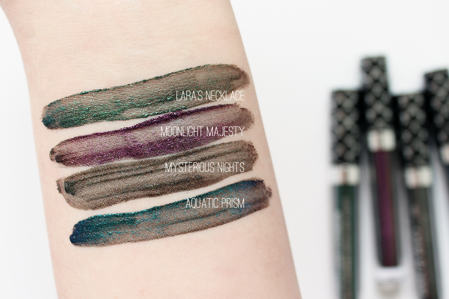 WET N WILD | Midnight Mermaid Collection - Swatches - CassandraMyee