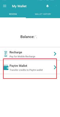 Wallet redeem