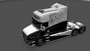 Scania T Black Eagle Skin