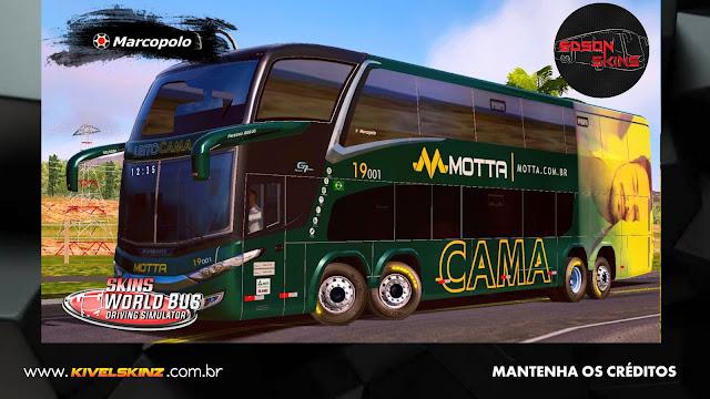 PARADISO G7 1800 DD 8X2 - VIAÇÃO MOTTA