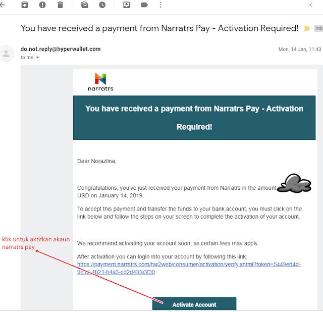 cara cashout duit dari platform narratrs, narratrs,platform influencers Filipina indonesia dan Malaysia