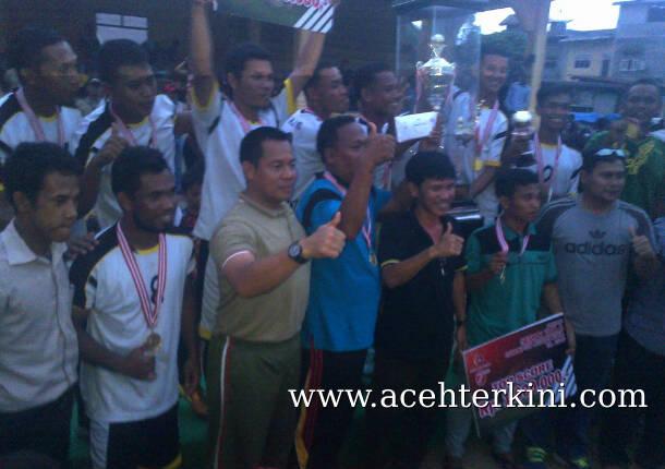 Turnamen Sepak Bola untuk Menekan Kejahatan di Aceh Singkil