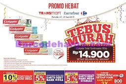 Katalog Promo Carrefour Tebus Murah 21 - 27 Juni 2019