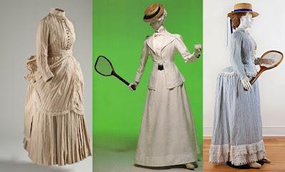 vestidos de tênis vitorianos