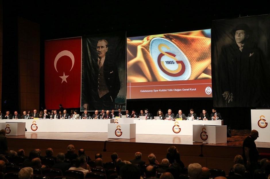 Galatasaray'da seçime 5 metre şartı!