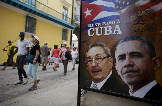 Obama poised to lead (economic) invasion of Cuba