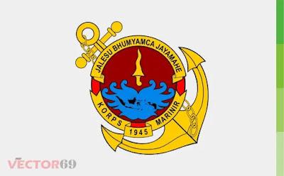Korps Marinir Indonesia Logo - Download Vector File CDR (CorelDraw)