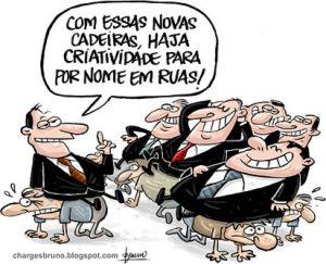 Resultado de imagem para brasil de sucupira charge