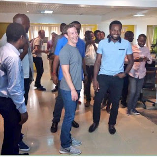 Mark paid visit in Nigeria