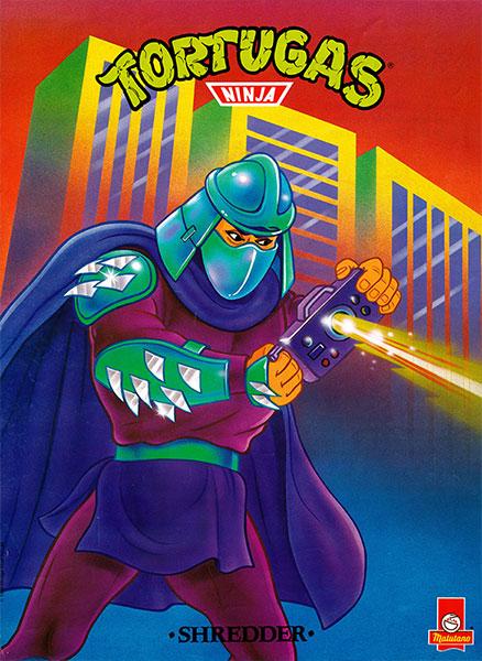 Póster Las Tortugas Ninja nº 6