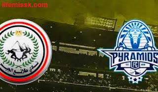 كأس مصر مباراة طلائع الجيش وبيراميدز  ربع النهائي مباشر 14-10-2020 والقنوات الناقلة