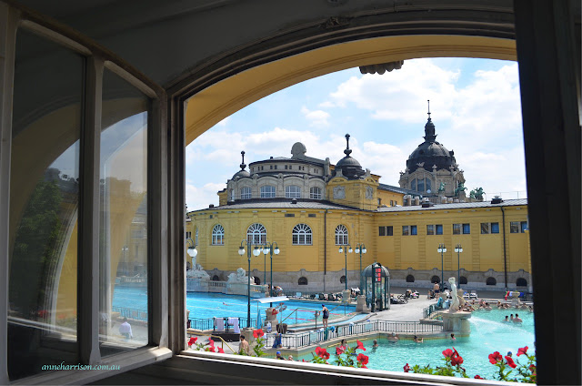 A Day at the Széchenyi Baths, Budapest