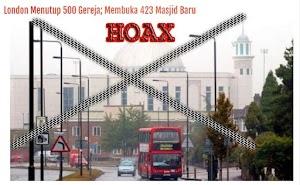 Hoax 500 Gereja di Tutup di London dan Mengubahnya Menjadi Mesjid