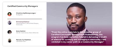 Facebook Certified Community Managers - Emmanuel Agbeko Gamor