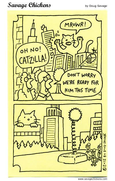 Cartoon Of The Day Cats