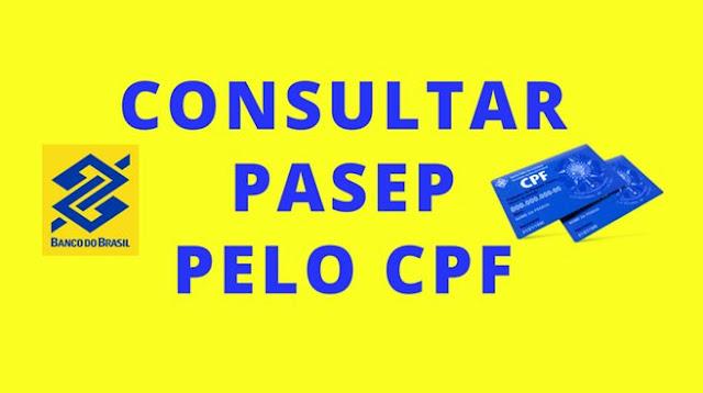 Como consultar PASEP pelo CPF