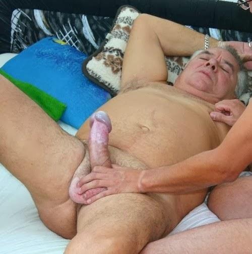 grandpa loves his big cock