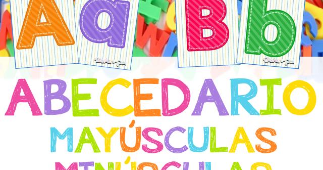 Tarjetas Abecedario Mayúsculas Y Minúsculas Materiales Educativos Para Maestras