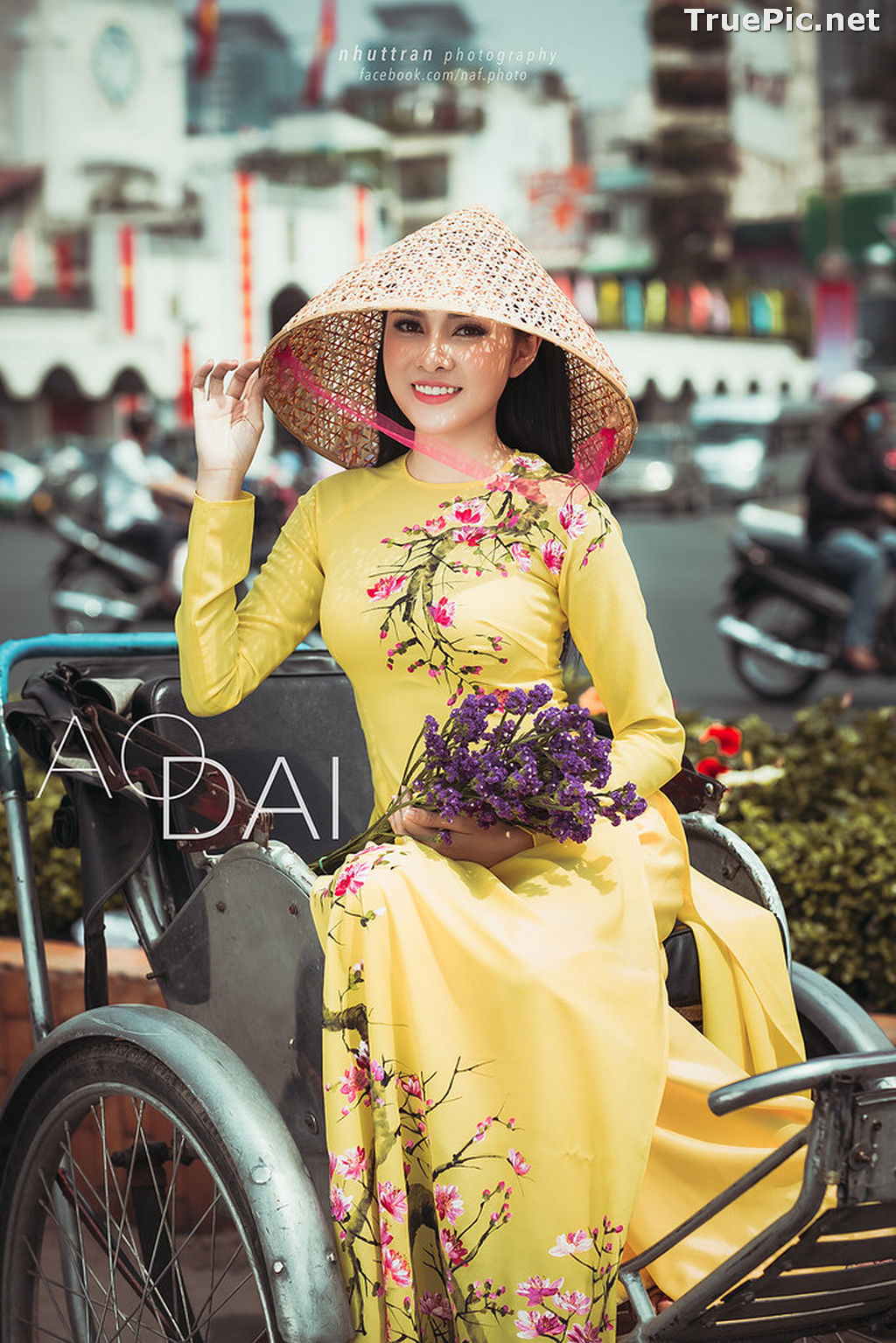 Image The Beauty of Vietnamese Girls with Traditional Dress (Ao Dai) #5 - TruePic.net - Picture-8